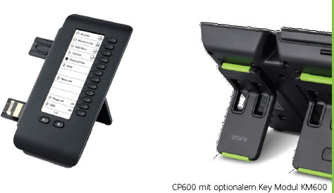 CP600 mit optionalem Key Modul KM600