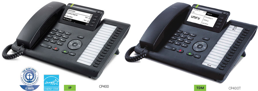 OpenScape Desk Phone CP400 / CP400T