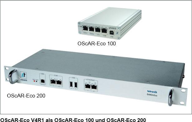 OScAR-Eco V4R1 als OScAR-Eco 100 und OScAR-Eco 200