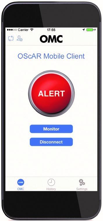OScAR-Mobile-Client, momentan keine Überwachung