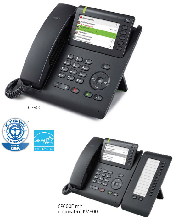 OpenScape Desk Phone CP600 / CP600E